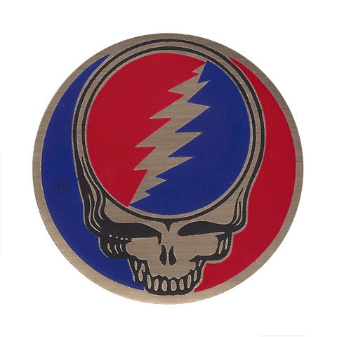 Steal Your Face - 1.6 in. foil sticker