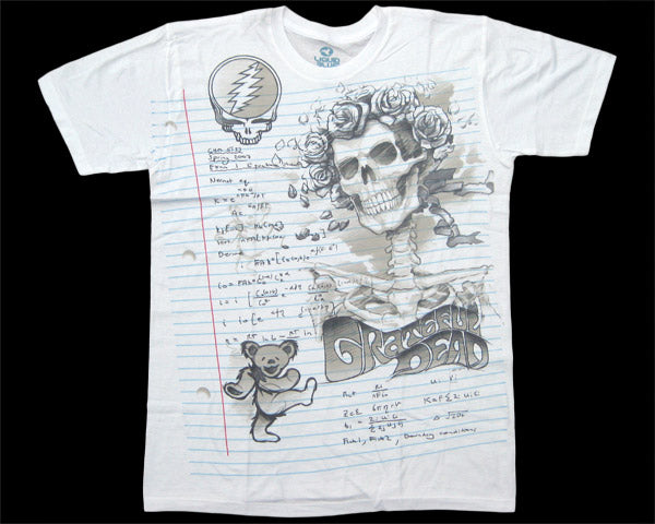 GD Sketch white athletic fit T-shirt