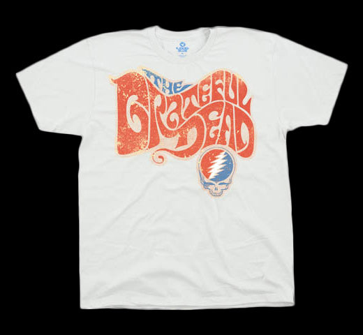 The Grateful Dead Logo tan T-shirt