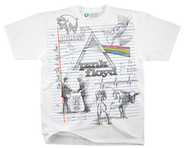 Floyd Sketch white T-shirt