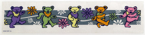 Bears & Flowers decal