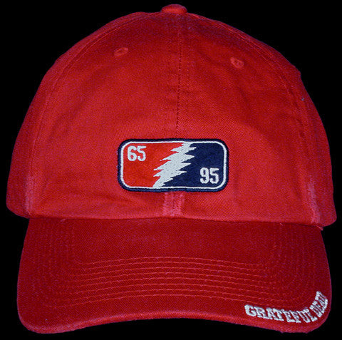 Grateful Dead 65/95 Red Hat
