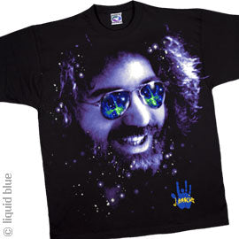 Jerry Space Shades black T-shirt