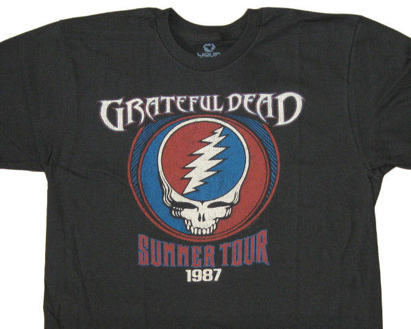 Summer Tour 1987 black T-shirt