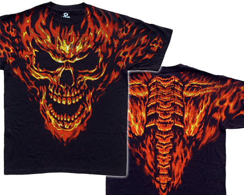 Raging Inferno black T-shirt