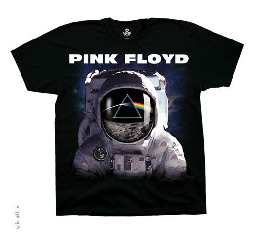 Spaceman black T-shirt