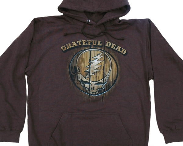 Dead Brand brown hooded sweatshirt