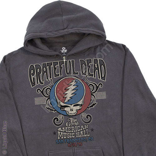 Great American Music Hall '75 zippered sweatshirt