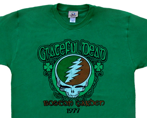 Boston Garden 1977 green T-shirt