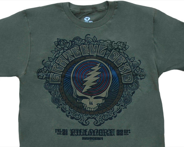 Fillmore green T-shirt