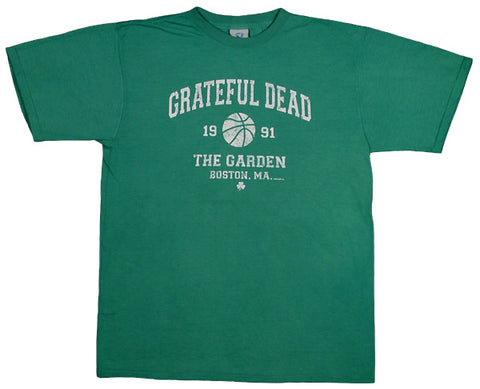 Boston Garden '91 green T-shirt