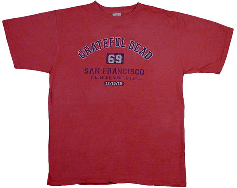 San Francisco '69 red T-shirt