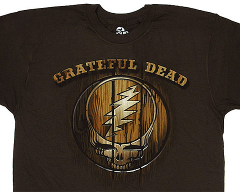 Dead Brand brown athletic fit T-shirt