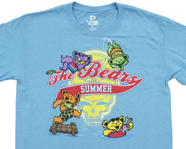 Bears Of Summer blue T-shirt