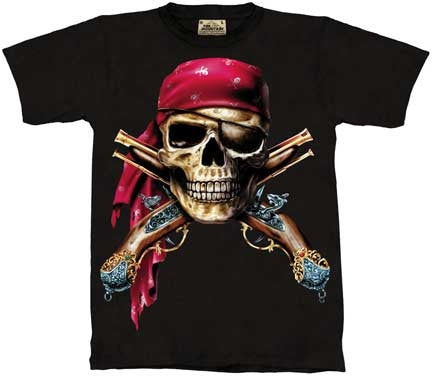 Skull & Pistols youth shirt
