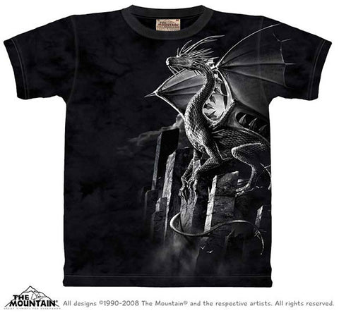 Silver Dragon tie-dye T-shirt