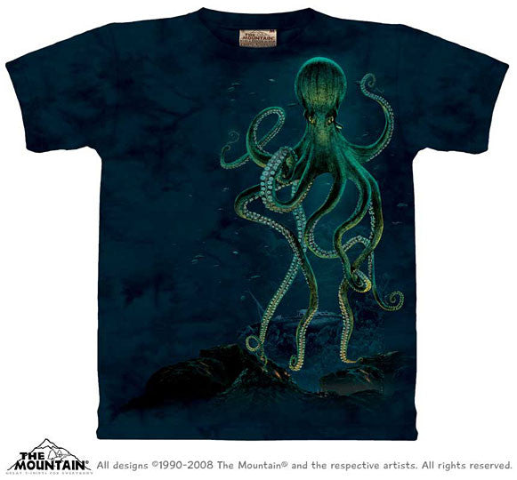 Octopus youth shirt