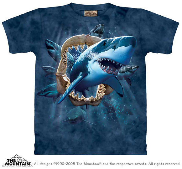 Shark Attack youth shirt