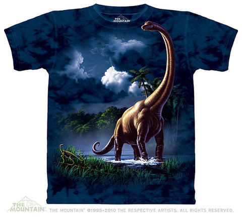 Brachiosaurus youth shirt