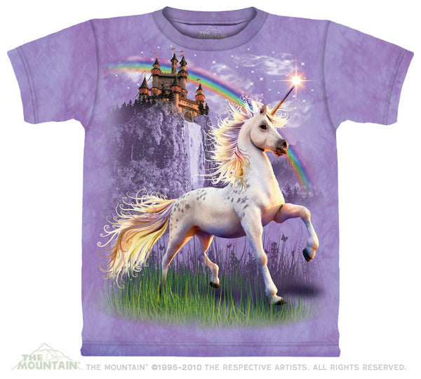 Unicorn Castle youth shirt