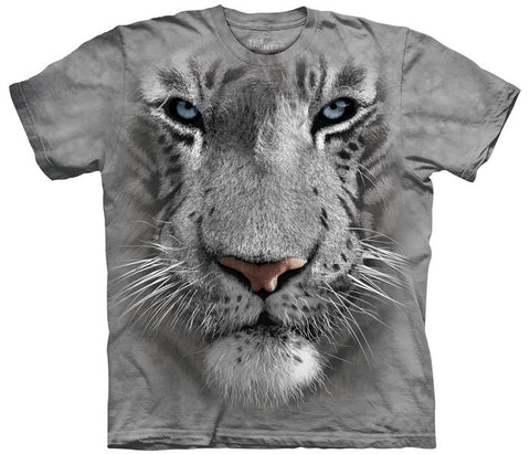 White Tiger Face youth shirt