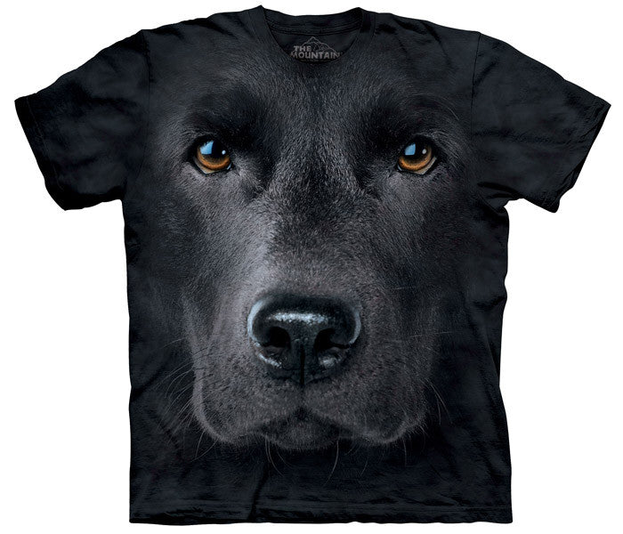 Black Lab Face youth shirt