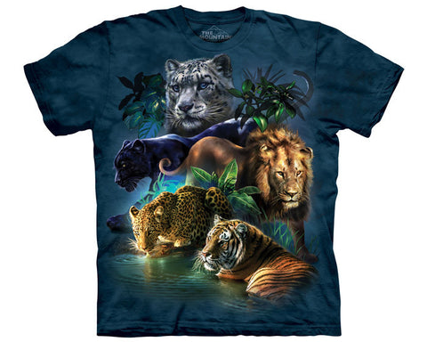 Big Cats Jungle youth shirt