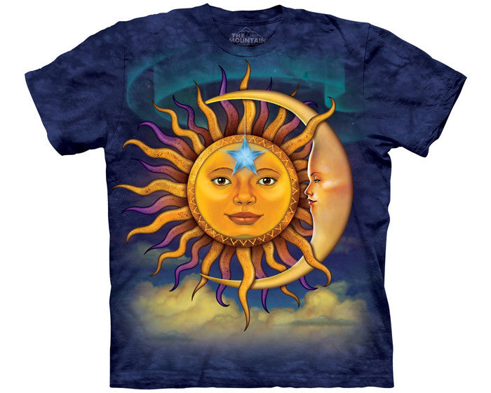 Sun Moon tie-dye T-shirt - 3XL