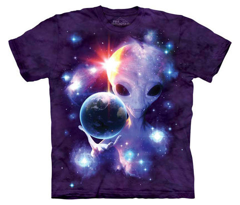 Alien Origins tie-dye T-shirt