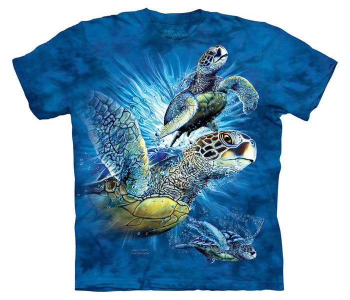 Find 9 Sea Turtles youth shirt