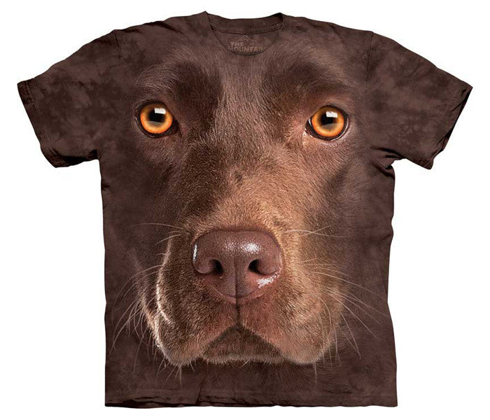 Chocolate Lab Face youth shirt