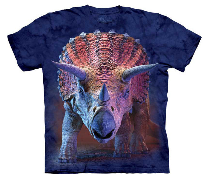 Charging Triceratops youth shirt