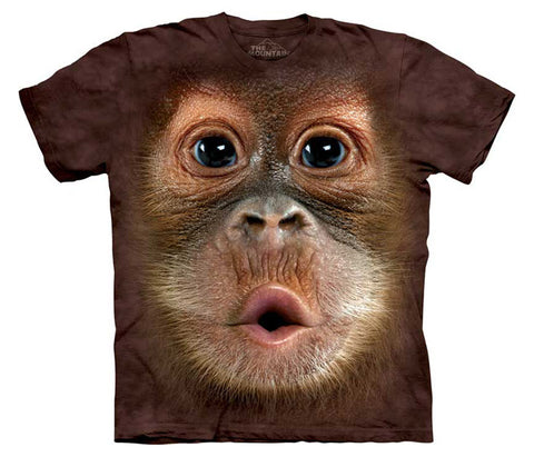 Big Face Baby Orangutan youth shirt