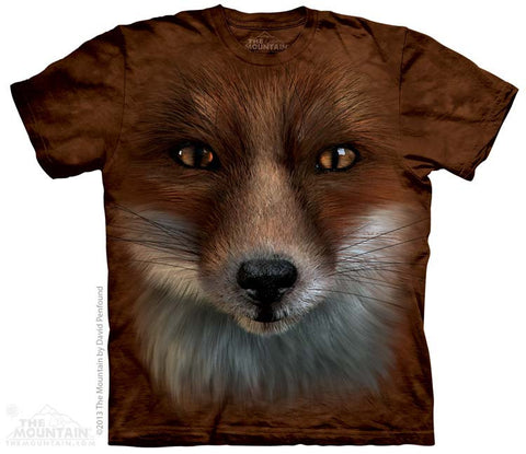 Big Face Fox youth shirt