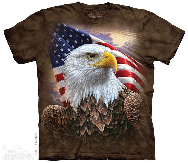 Independence Eagle tie-dye T-shirt
