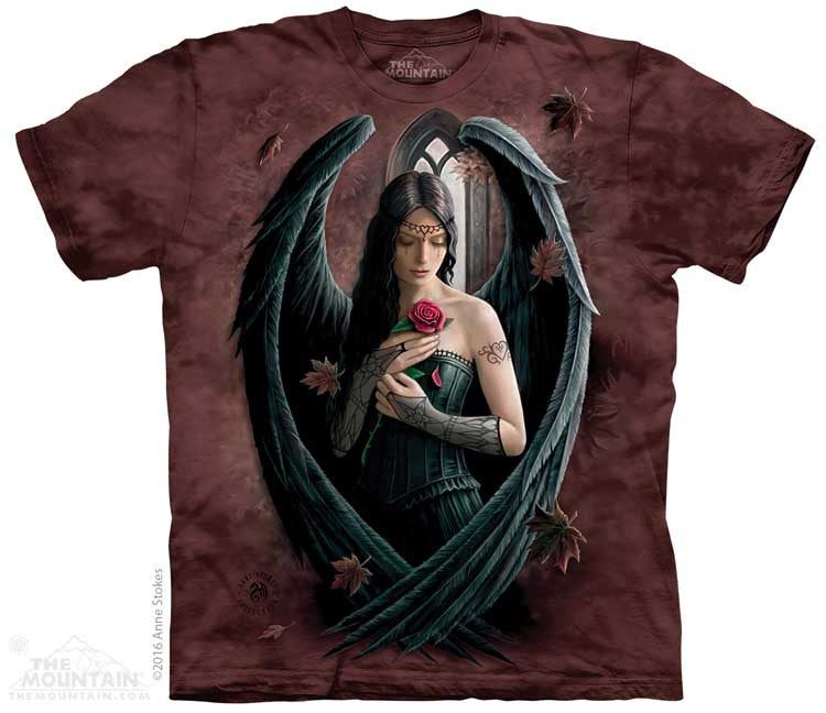 Angel Rose tie-dye T-shirt