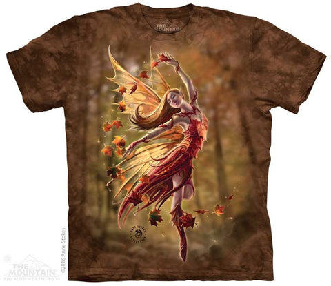 Autumn Fairy tie-dye T-shirt