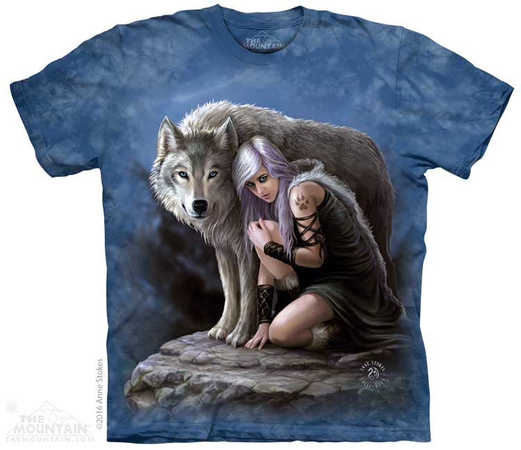 Wolven Protector tie-dye T-shirt
