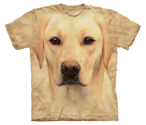 Yellow Lab Portrait youth shirt - YX