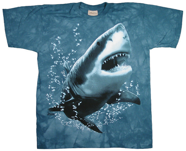 Great White Shark tie-dye - YX