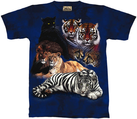 Big Cat Collage youth shirt