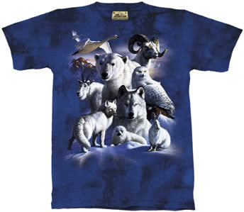 Arctic Animals youth shirt