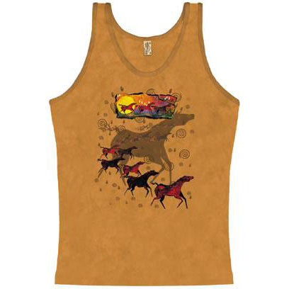 Wild Red Horses ladies' tank top - JM