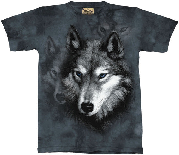Wolf Portrait youth shirt