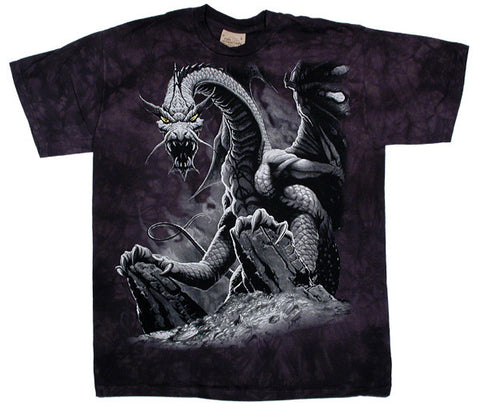 Black Dragon tie-dye T-shirt