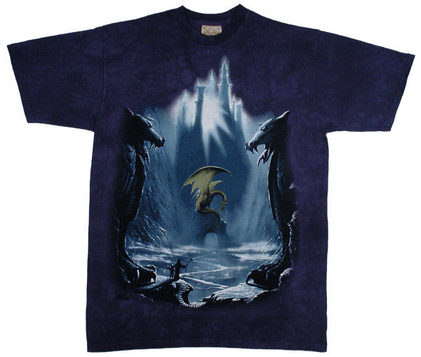 Lost Valley tie-dye T-shirt