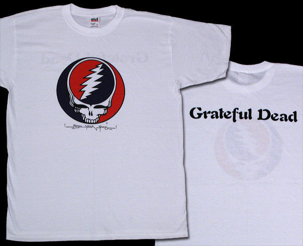 Steal Your Face White T-Shirt