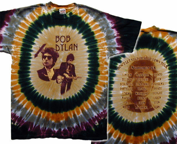 Dylan - Deal Tour tie-dye T-shirt