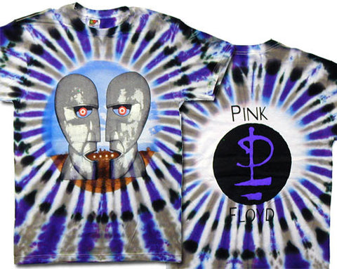 Division Bell tie-dye T-shirt
