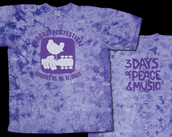 Woodstock Dove tie-dye T-shirt
